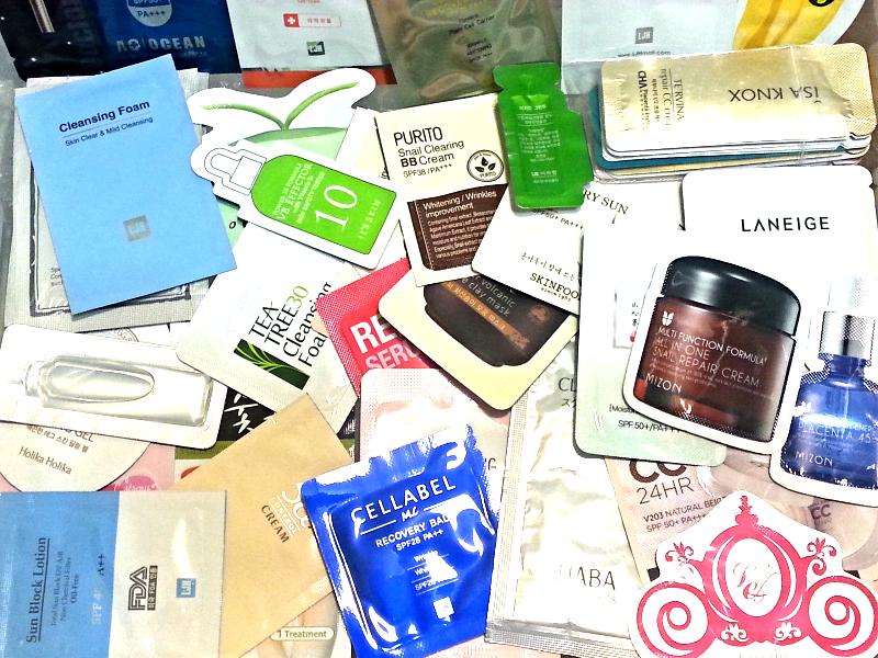 Korean Skincare Samples Variety Pack