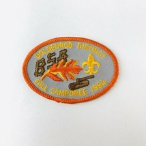 Vintage BSA Boy Scouts of America Patch Goldenrod District Fall Camporee 1984 - $19.00