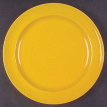 Concentrix Saffron Yellow China Stoneware Large Dinner Plate by Lynn's, ... - $17.99
