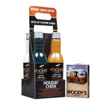 Woody's Holiday Cheer: Conditioner, Hair&Body Wash,Shampoo, Mega Firm Ge... - $31.68