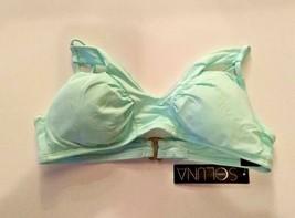 Soluna Swim Light Green Bikini Top Removable Cups Size Medium image 1