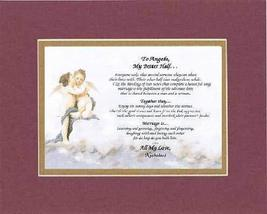Personalized Touching and Heartfelt Poem for Loving Partners - My Better Half .P - $22.72