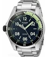 NWT Nixon A959000-00 Men's 'Descender' Swiss Quartz Stainless Steel Watch - $326.65