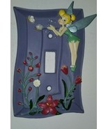 Disney Tinkerbell Light Switck Plate - $6.93