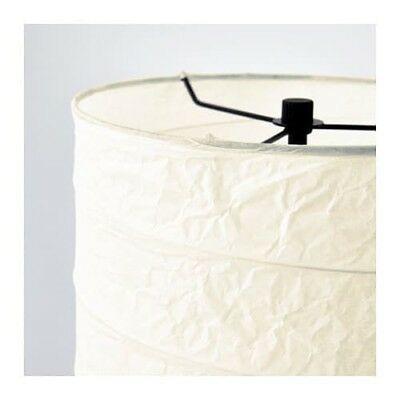 IKEA HOLMO FLOOR LAMP SHADE RICE PAPER image 4