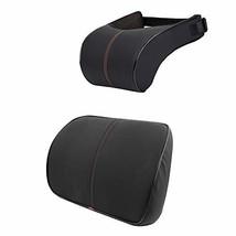 Anyshock Car Headrest Lumbar Pillow Neck Back Support 100% Memory Foam H... - $47.50