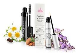 Natural Eyelash & Brow Growth Serum With Natural Organic Mascara | Gives - $55.18