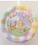 CLASSIC WINNIE POOH PLATES LUNCH Birthday Party 1st Baby Shower Decorati... - $22.72