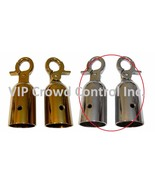 REPLACEMENT ROPE HOOK, 2 PCS SET, MIRROR POLISHED, VIP CROWD CONTROL - $12.86