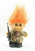 Vintage Russ Soldier Troll Rifle Camo Fatigues Marine Military Army 1833... - $9.99