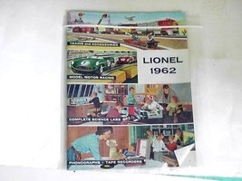 Lionel 1962 Guide Book Trains, Accessories, Science Labs, Phonographs - $24.74