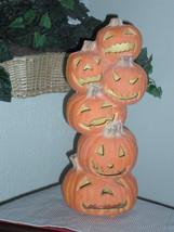 "Halloween 18"" JOL Pumpkin Stack Foam Blow Mold - Trendmasters - $29.99"