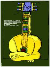 "20x30""Decoration CANVAS.Interior design art.Chico Buarque yellow guitar.... - $75.00"