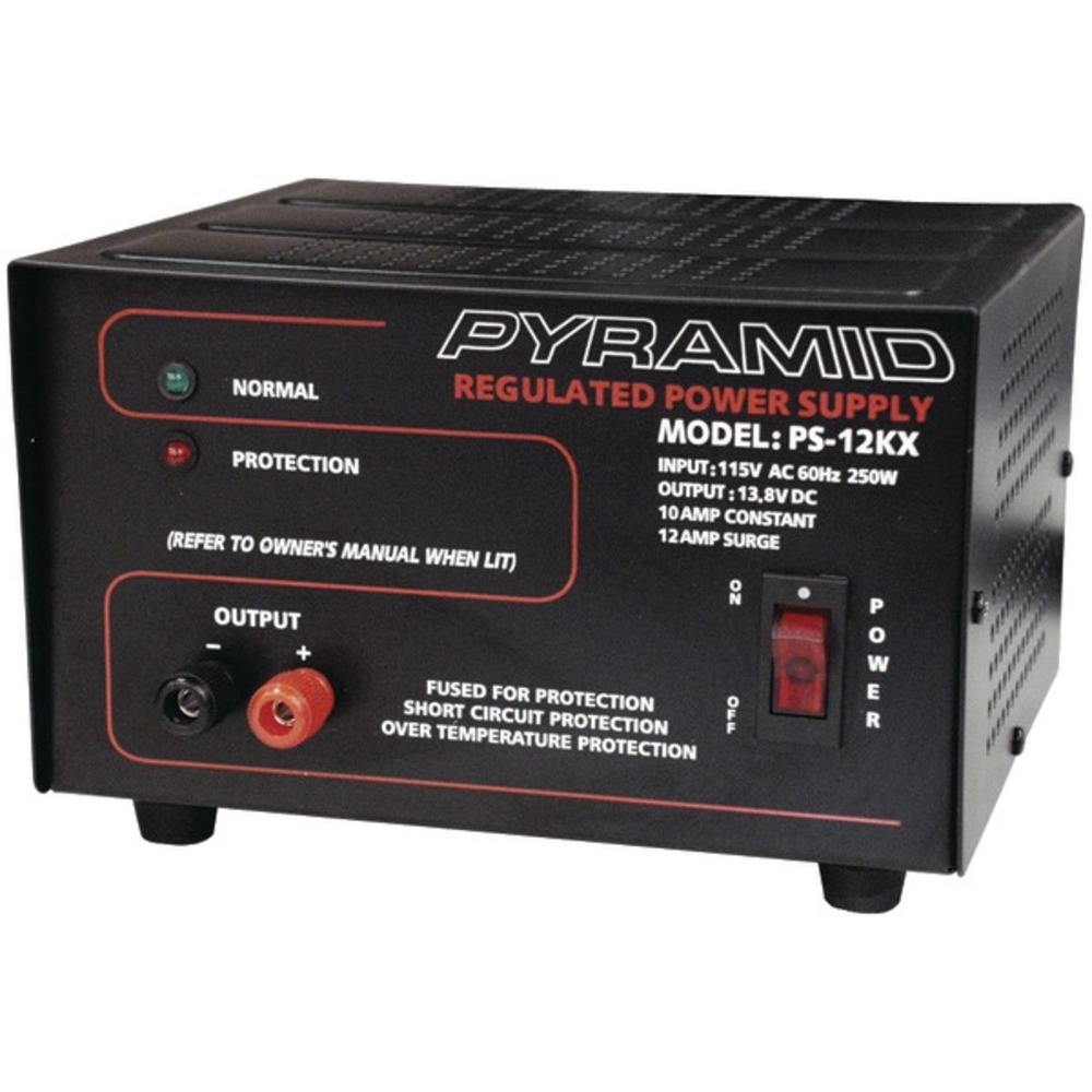 Primary image for Pyramid Car Audio PS12KX Power Supply (250 Watts Input, 10 Amp Constant)