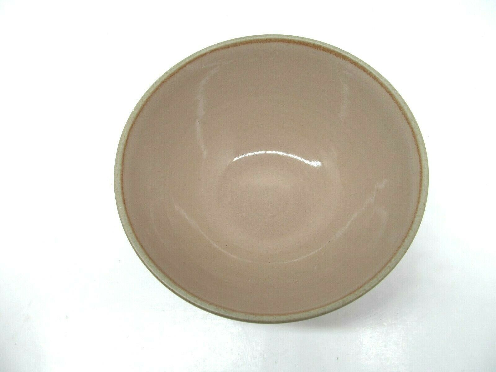 "Primary image for Mikasa Potters Art Stoneware Cafe Latte 6"" Cereal Bowl EUC"