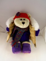 "Starbucks Winter Bearista Bear 10"" plush 2006 with Winter outfit - $16.82"