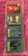 Topps (45) Photo cards the A-Team,all rack pack sets Mr T 1983 Rare seal... - $22.27