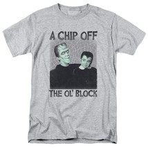 The Munsters t-shirt Herman & Eddie Chip Off the Ol' Block graphic tee NBC908 image 1