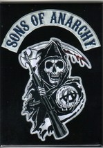 The Sons of Anarchy Reaper Logo Refrigerator Magnet, NEW UNUSED - $3.99