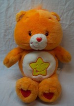 "CARE BEARS ORANGE SINGING TALKING LAUGH A LOT 13"" Plush Stuffed Animal T... - $24.74"