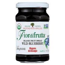 Fiordifrutta Organic Fruit Spread Wild Blueberry - Fruit Spread Wild Blu... - $39.99+