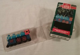 1992 HALLMARK KEEPSAKE ORNAMENT CHRISTMAS SKY LINE COLLECTION TRAIN LOCO... - $20.84