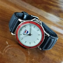New Old Stock 1980's Vintage Mens PEPSI Cola Advertising Watch Pepsi Dia... - $39.95