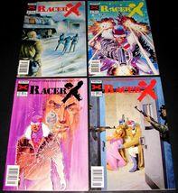 4 1989-1990 NOW Comics RACER X Comic Books Vol 2 #7, 8, 9, 10 Speed Racer - $12.99