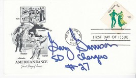GARY GARRISON SAN DIEGO CHARGERS AUTOGRAPHED US FIRST DAY COVER NFL  - £4.27 GBP