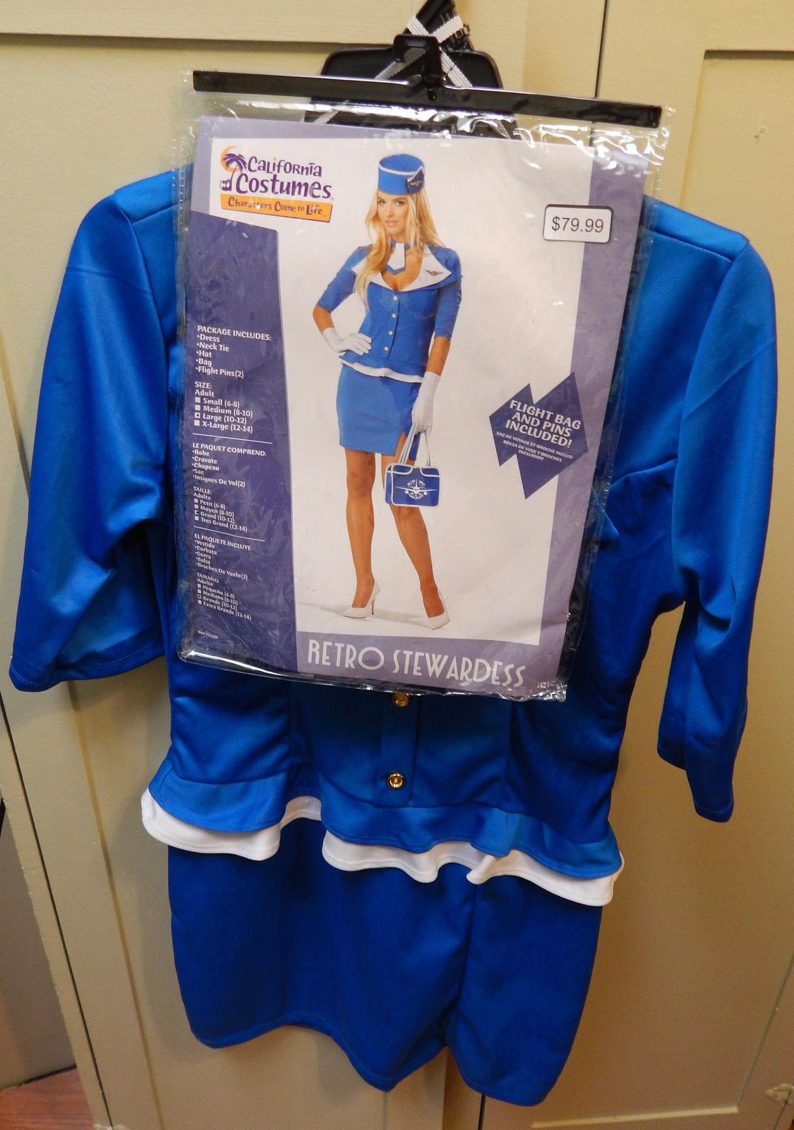 8ae46e7b45d52 California Costumes Retro Stewardess and 50 similar items