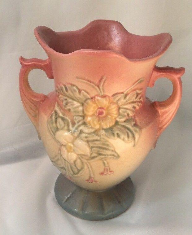 Hull Pottery Vase Art Usa W4 6 12 Pink And 25 Similar Items