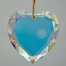 Swarovski Clear Crystal Flat Heart Prism image 4