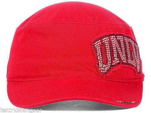 more photos 9ec95 e21b8 UNLV REBELS TOW WOMEN S CASTRO CADET NCAA GLEAM MILITARY STYLE CAP HAT