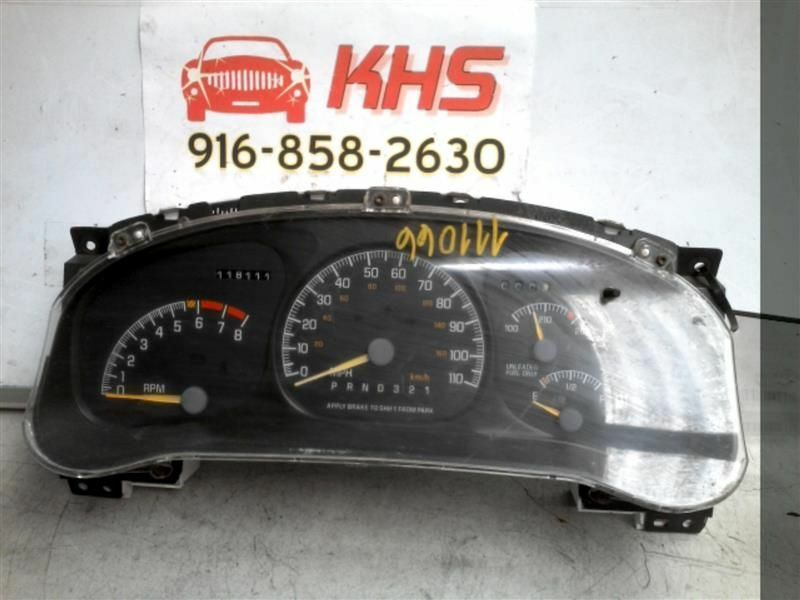 Primary image for Speedometer US Cluster Fits 98 TRANS SPORT 221530