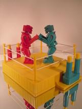 Rockem Sockem Robots 2001 Mattel Reissue - Blue Bomber & Red Rocker - $13.16