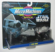 Galoob Star Wars Space I Micro Machines Toy Set - (TIE Interceptor / Imp... - $21.78