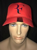 Nike RF Roger Federer Tennis Dri-fit Hat Cap Iridescent Red 835536 657 - $54.65