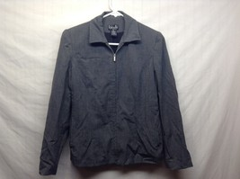 Rafaella Petites Gray White Weave w Blue Tone Suit