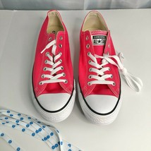 Converse Chuck Taylor All Star Pink Sneakers Size 9.5 - M 11.5 - W  164294F NWOT - $40.34