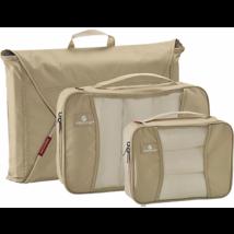 Neu Eagle Creek Pack-It mit Kleidungsstück Ordner & 2 Würfel Hellbraun - $49.48