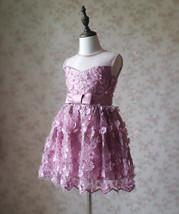 Ball Gown Knee-length Flower Girl Dress -Satin/Tulle Sleeveless Scoop Neck 4-16  image 3