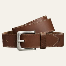 Timberland Men's Oiled Buffalo Leather Brown Belt Style #A1C3S(008) All Sizes - $24.99