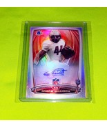 NFL ANDRE WILLIAMS AUTOGRAPHED 2014 BOWMAN CHROME ROOKIE REFRACTOR MINT - £8.54 GBP