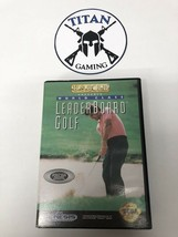 World Class Leaderboard Golf (Sega Genesis, 1992) - $8.55