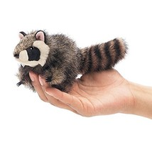 Folkmanis Mini Raccoon Finger Puppet - $10.21
