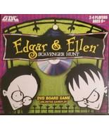 Edgar & Ellen Scavenger Hunt DVD Tabletop Strategy Board Game New & Sealed - $14.01