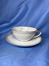 Jyoto Fine China Of Japan Audrey 8061 Floral Gold Trim Coffee Tea Cup An... - $15.99
