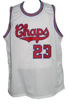 Custom Name # Dallas Chaps Retro Aba Basketball Jersey New Sewn White Any Size image 3