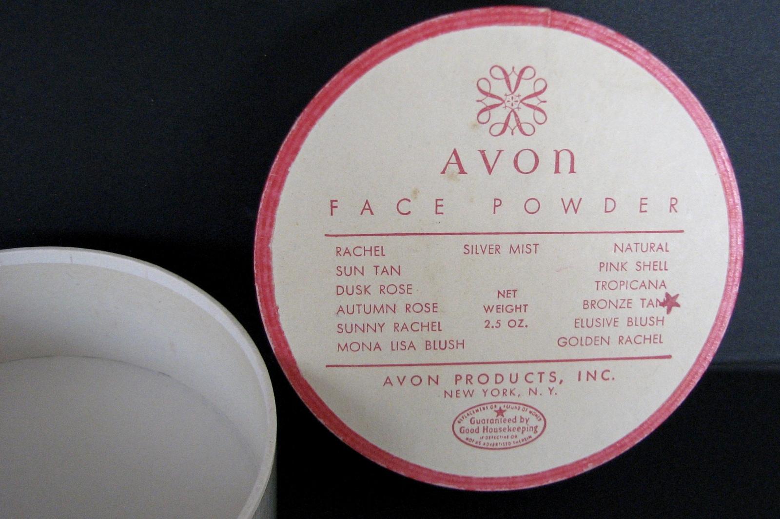 Vintage Powder Avon Unopened Face Movie Prop