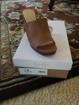 NEW - Womens Jessica Simpson Sheyna Wedge Sandal - Sz. 6 Suntan - $43.56